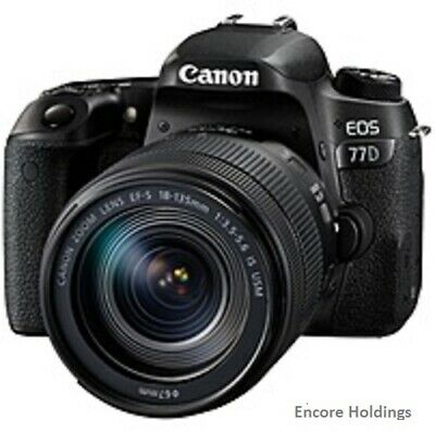 Canon EOS 1892C002 Digital SLR Camera with Lens 18 mm to 135 mm (Lens 1)