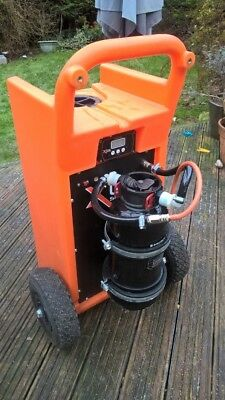X-line pure water Window cleaning trolley and pole, wfp ready to go