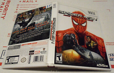 Spider-Man: Web of Shadows (Nintendo Wii, 2008) Complete