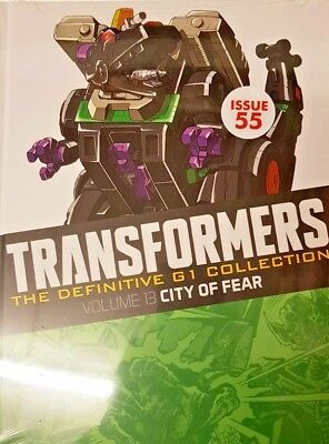 Transformers  Def.  G1 Collection = # 55 = Vol 13 = City Of Fear