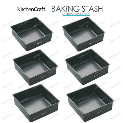 7in//18cm Kitchen Craft Master Class Carbon Steel Non-Stick Loaf Tin