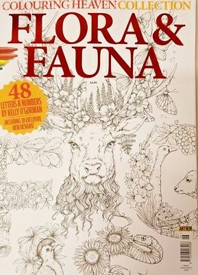 Colouring Heaven Collection Magazine 2019 = # 6 = Flora And Fauna