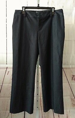 4ad489ff75 Covington Essentials Women's Dress Pants Stretch Straight Leg Blue Sz 16  Petite