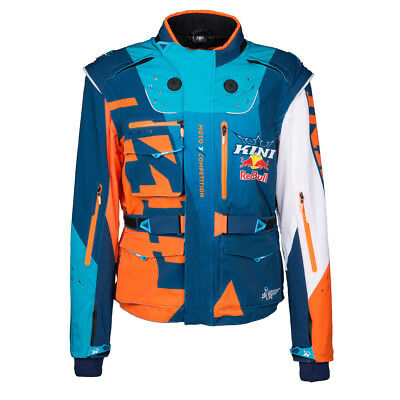 Kini Red Bull Fahrerjacke Competition Orange/Weiß/Navy