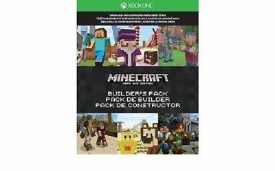Microsoft Xbox One Minecraft Builder's Pack Game Add-On Download Code