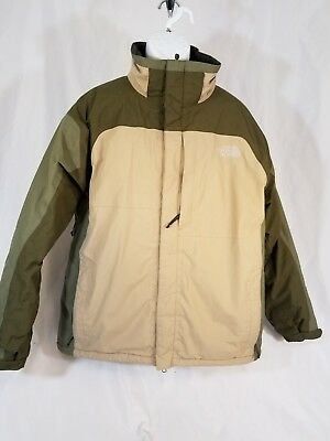 ead32f540 🔥 MENS THE North Face Hyvent XL Ski Winter Jacket Coat Brown/Tan Green