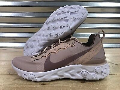 74ee47e7b28 Womens Nike React Element 55 Running Shoes Particle Beige SZ ( BQ2728-200 )
