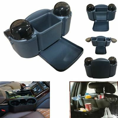 Multifunction Car Van Auto Portable Vehicle Seat Cup Phone Drinks Holder Tray