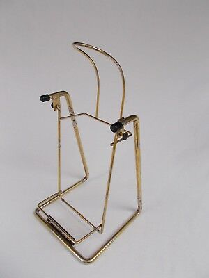 60's Johnnie Walker Large bar pup serving Swing Cradle for large bottle whiskey