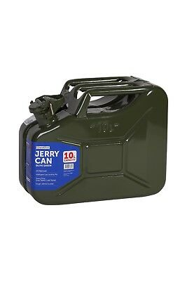 10L Steel Jerry Can Green