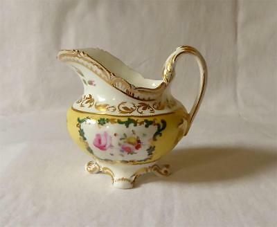 ANTIQUE EARLY 19TH CENTURY ENGLISH PORCELAIN CREAM JUG c1830