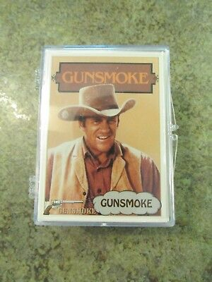 1993 Pacific Gunsmoke Complete 110-card Set w/Clear Case