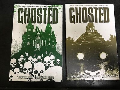 Ghosted Volume 1 and 2 Softcover Graphic Novel