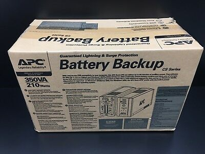 APC  BK350 Back-ups System (CS 350) - Brand New - Factory Sealed Box