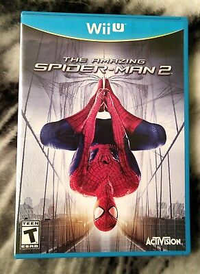 Amazing Spider-Man 2 Nintendo Wii U Video Game Untested