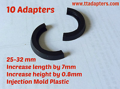 10x Tabletop Adapter ROUND BASE CIRCLE 25mm-32mm WAR HAMMER INFINITY GAME