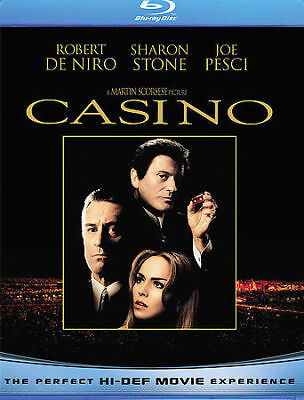 Casino Blu-ray Robert De Niro Joe Pesci Sharon Stone James Woods Martin Scorsese