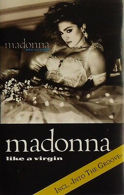 MADONNA Like A Virgin Cassette Tape EX Condition 1985 Album Sire WX 20 C