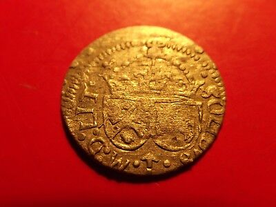RARE Poland LITHUANIA Solidus 1616 SIGISMUND III medieval silver coin Schilling