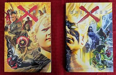 Marvel Universe X Vol 1 and 2 graphic novel trade paperback tpb comic softcover