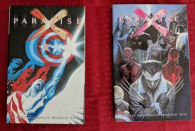Marvel Paradise X Vol 1 and 2 graphic novel trade paperback tpb comic softcover