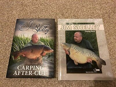 Jim Shelley Books Both 1st Additions