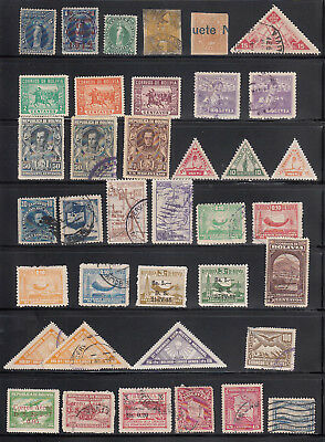 Bolivia Selection of Older Stamps