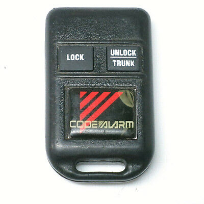 2 CODE ALARM 2 Button Key Fob Aftermarket Remote GOH