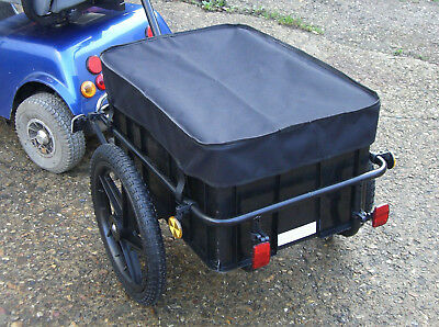 Mobility Scooter Large RearTowing Transport Trailer Shopping Solution Shoprider