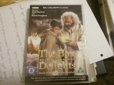 The Box of Delights  with Patrick Troughton  (DVD  1984) BBC .