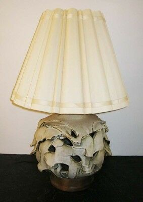 Vintage 1960s David Cressey Studio Pottery Ceramic Lamp Architectural Pottery
