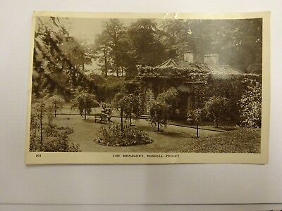 Nostell Priory near Wakefield, b+w RP postcard, posted 1913  The menagery