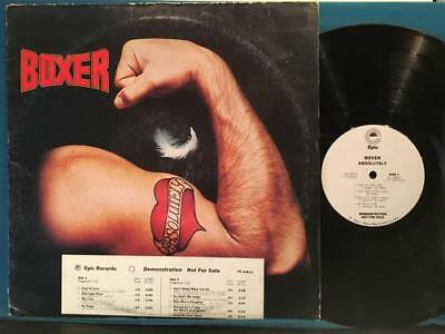 BOXER ABSOLUTELY~ORIG 1977 WHITE LABEL PROMO wTIMING BAR~MIKE PATTO~FOOL IN LOVE