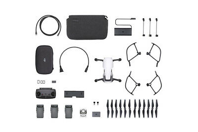 DJI Mavic Air 4K Quadcopter Fly More Combo Arctic White (DJI Refurbished)
