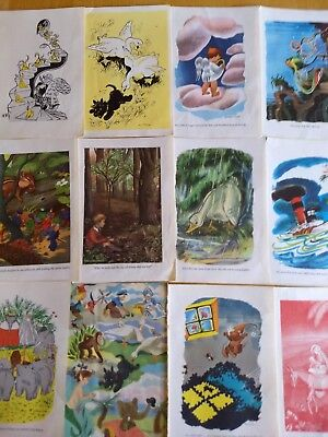 collection color illustrations from children's books