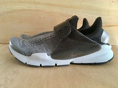 320d02174e4e Nike Sock Dart SE Premium Dark Grey  Black Pure Platinum Mens Size 12 859553