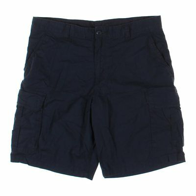 "Faded Glory Men's Shorts, size 38"" Waist,  blue/navy,  cotton, spandex"