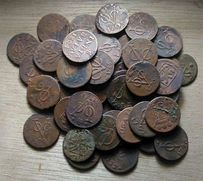 18th-19th Century 1700s 1800s New York Penny Dutch VOC East India shipwreck Duit