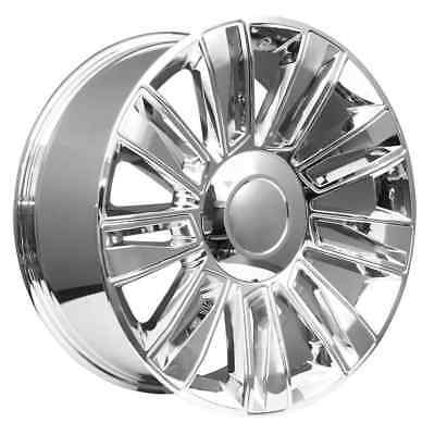 22 Chrome Cadillac Escalade Oem Factory Style Limited Edition Wheels