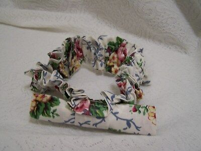 "LONGABERGER GARTER 12"" diameter small MOTHER'S DAY FLORAL   NEW"