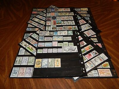 Czechoslovakia stamps - HUGE lot of 350 mint hinged & used stamps - super !!