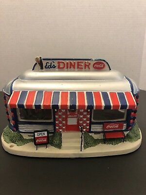 COCA COLA ED'S DINER 2006 THE MAIN STREET COLLECTION ROTATING Dancers EXC COND