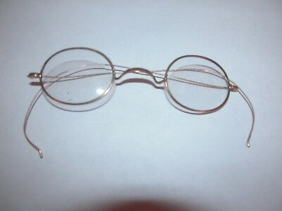 Antique/vintage Eye Glasses Gold Style Wire Wrap-A-Round Bows