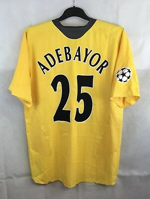 Arsenal Player Issue Adebayor 25 Away Football Shirt 2005/06 Adults XL Nike