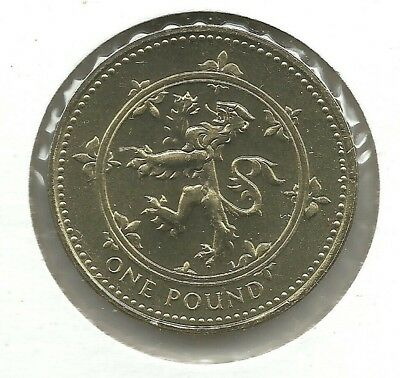 GREAT BRITAIN  Pound 1994 KM#967   Scottish arm