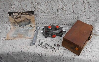 Vintage Log Splitter 4 in 1 Cross Hydraulic Directional Control Valve New In Box