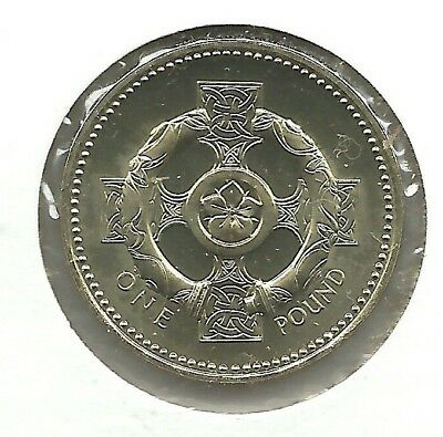 GREAT BRITAIN  Pound 1996 KM# 972 CELTIC CROSS