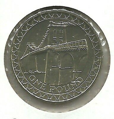 GREAT BRITAIN 1 Pound 2005 Menai Bridge Proof - PROOF - KM 1051