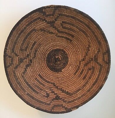 Pima Native American Indian Basket Very Good Condition