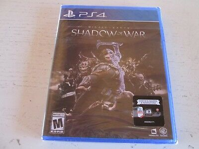 Middle-earth: Shadow of War (Sony PlayStation 4). Brand New & Factory Sealed PS4